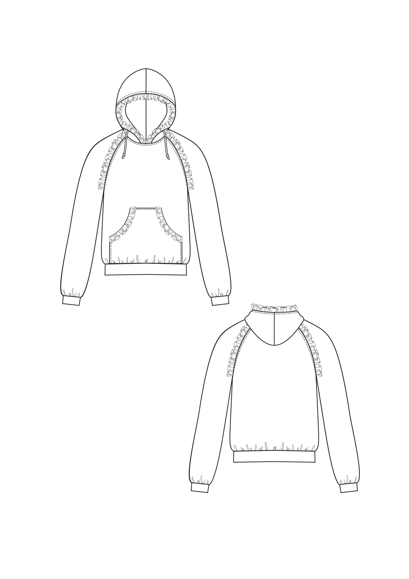 technische zeichnungen offense fashion m nchen. Black Bedroom Furniture Sets. Home Design Ideas